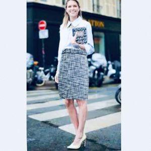 White House Black Market NEW Tweed Pencil Skirt 4
